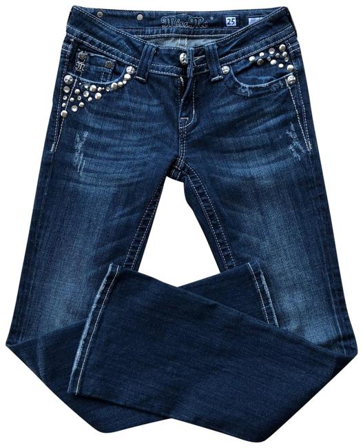 Preload https://img-static.tradesy.com/item/24124571/miss-me-blue-and-silver-rhinestones-dark-rinse-sequined-jp5141br-boot-cut-jeans-size-0-xs-25-0-1-650-650.jpg