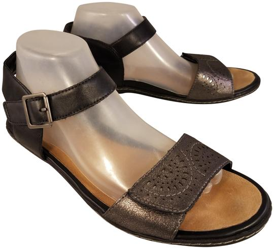 Earth Kalso Woman Black/pewter Sandals Image 0