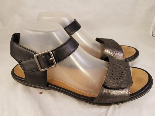 Earth Kalso Woman Black/pewter Sandals Image 1
