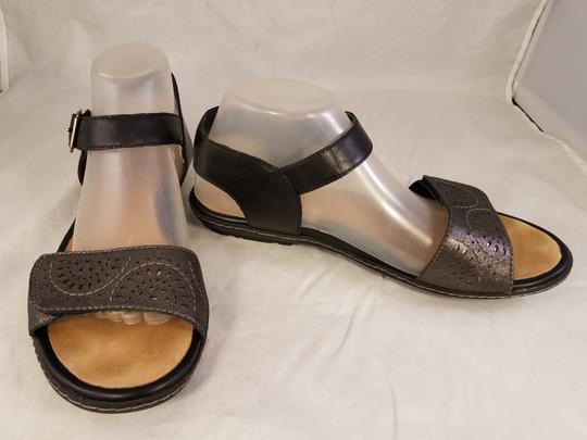 Earth Kalso Woman Black/pewter Sandals Image 3