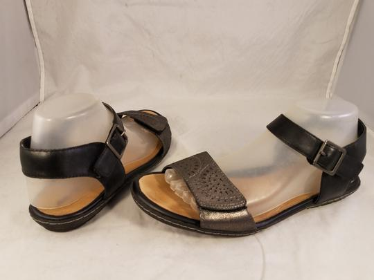 Earth Kalso Woman Black/pewter Sandals Image 4