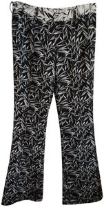 Prabal Gurung Flare Pants Black white