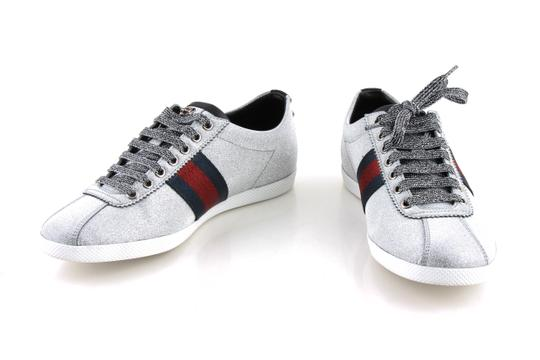 Preload https://img-static.tradesy.com/item/24124818/gucci-silver-glitter-web-sneaker-with-studs-shoes-0-0-540-540.jpg