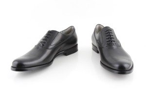 Alexander McQueen Black Oxford Shoes