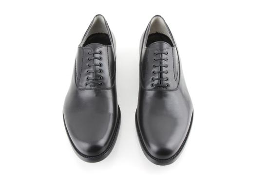 Alexander McQueen Black Oxford Shoes Image 1