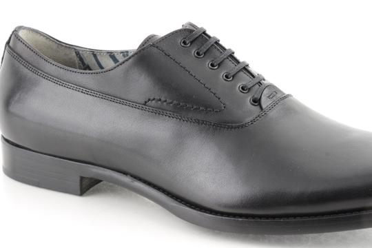 Alexander McQueen Black Oxford Shoes Image 8