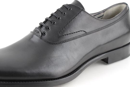 Alexander McQueen Black Oxford Shoes Image 9