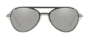 48faa2706db Prada New Aviator with Mirrored Lens SPS 04T MQG2B0 Free 3 Day Shipping