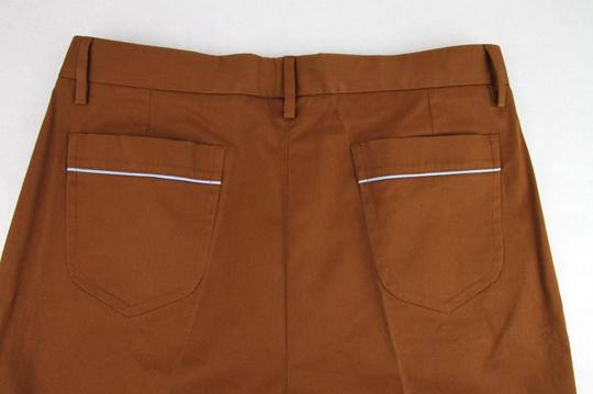 Gucci Brown Mustard Stretch Gabardine Pant It 48r/Us 32 400637 2450 Groomsman Gift Image 10
