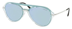 Prada Aviator with Mirrored Lens SPS 04T 0P85Q0 Free 3 Day Shipping