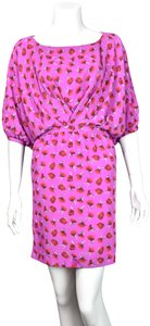 Thakoon short dress Hot Pink on Tradesy