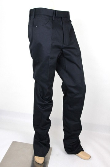 Gucci Blue Men's Military Cotton Drill Pant It 46r/Us 30 406453 4440 Groomsman Gift Image 1