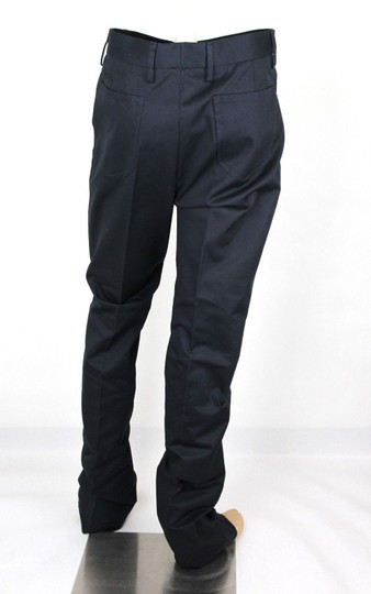 Gucci Blue Men's Military Cotton Drill Pant It 48r/Us 32 406453 4440 Groomsman Gift Image 3