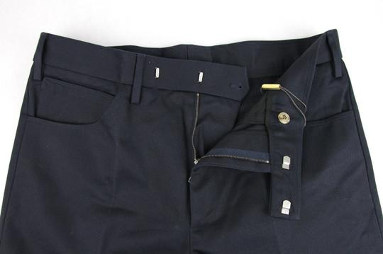 Gucci Blue Men's Military Cotton Drill Pant It 48r/Us 32 406453 4440 Groomsman Gift Image 4