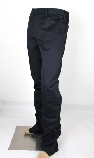 Gucci Blue Men's Military Cotton Drill Pant It 50r/Us 34 406453 4440 Groomsman Gift Image 2