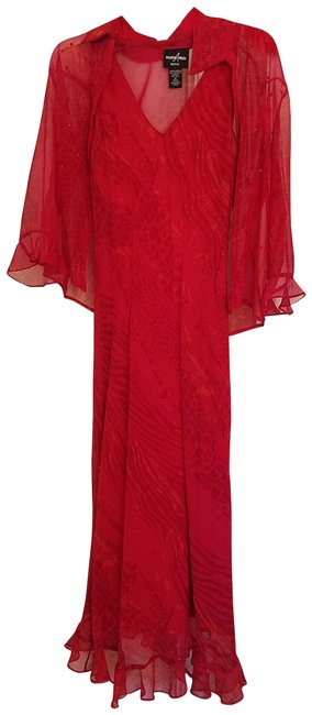 Preload https://img-static.tradesy.com/item/24125051/red-long-night-out-dress-size-petite-4-s-0-1-650-650.jpg
