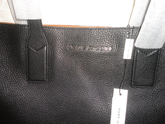 Marc by Marc Jacobs Designer Leather Tote in Black Image 2