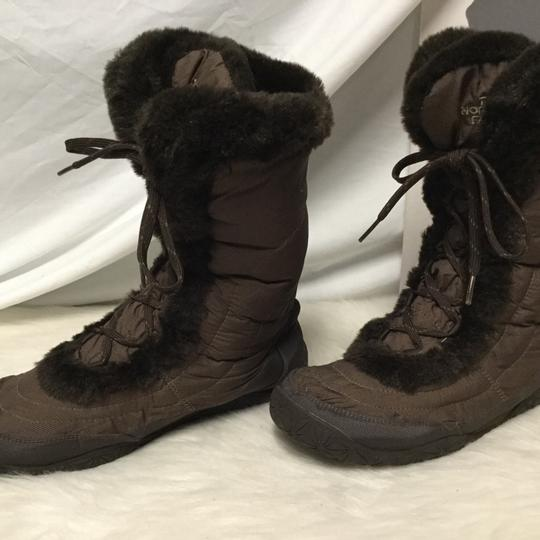 The North Face brown. Boots Image 1