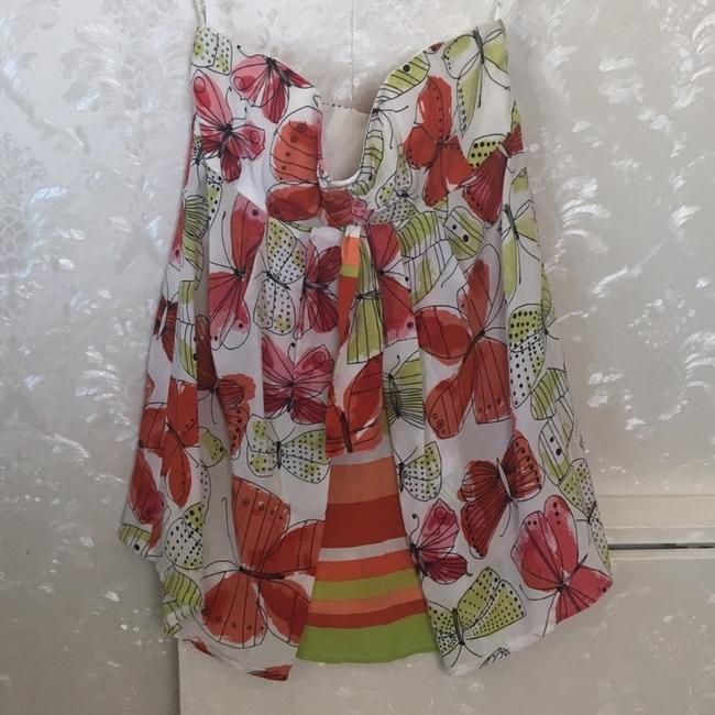 Nanette Lepore Top Orange, Yellow, Lime Image 2