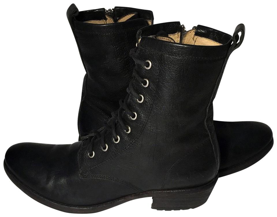 9dcfd44aa4d Frye Black 77208 Carson Lace Up Western Ankle Women's Boots/Booties Size US  8 Regular (M, B) 28% off retail