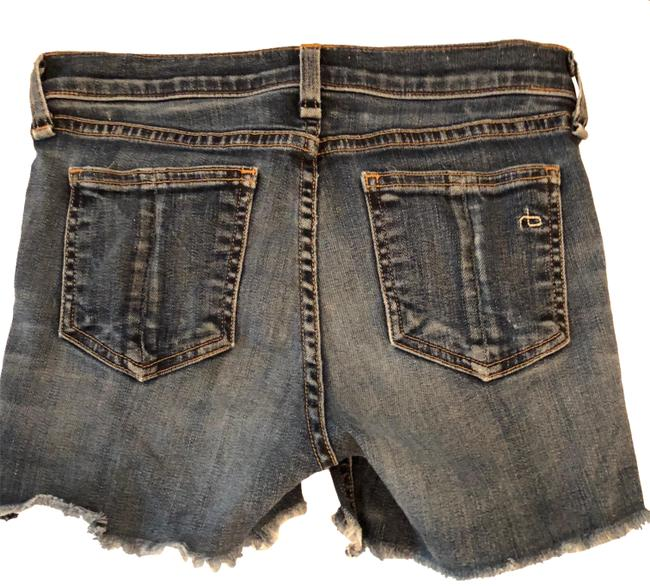 Preload https://img-static.tradesy.com/item/24125307/rag-and-bone-blue-distressed-frayed-denim-shorts-size-2-xs-26-0-4-650-650.jpg