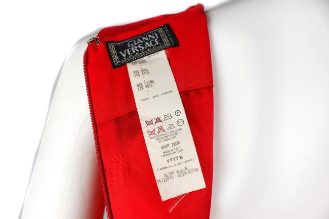Versace short dress Red on Tradesy Image 6