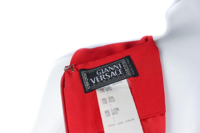 Versace short dress Red on Tradesy Image 7