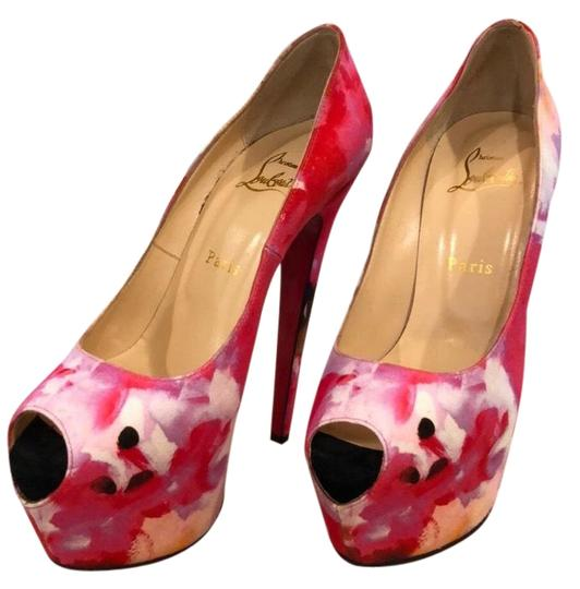 Preload https://img-static.tradesy.com/item/24125428/christian-louboutin-pink-floral-highness-160-popi-fabric-platforms-size-eu-38-approx-us-8-regular-m-0-1-540-540.jpg