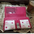 MCM Satchel in Pink, white Image 6