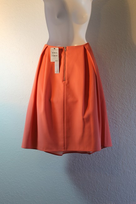 Chelsea28 Pleated Polyester Skirt Coral Rose Image 3