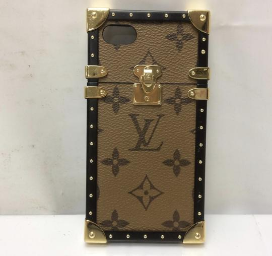 Louis Vuitton Louis Vuitton Reverse Canvas Trunk Iphone 7 Case Wallet Image 4