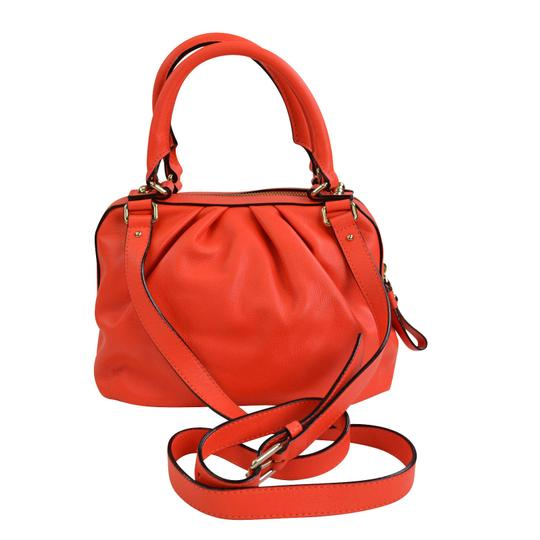 Kate Spade Kinsey Red Leather Satchel Cross Body Bag Image 2