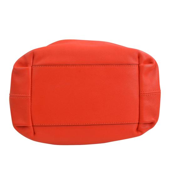 Kate Spade Kinsey Red Leather Satchel Cross Body Bag Image 3