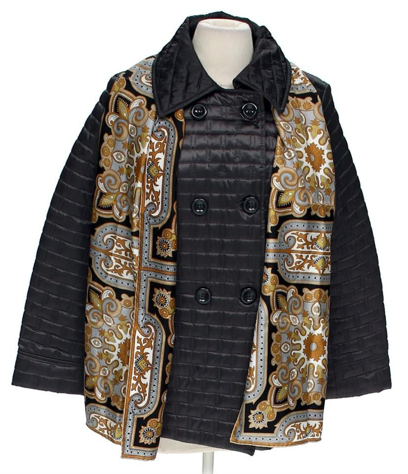 6bd0e2e1e Apt. 9 Dark Grey Black Lovely Set Quilted Puffer Coat Peacoat with ...