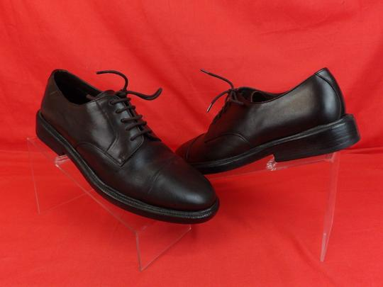 Burberry Prorsum Brown Redworths Dark Leather Lace Up Derby Oxfords 43 10 Italy Shoes Image 4