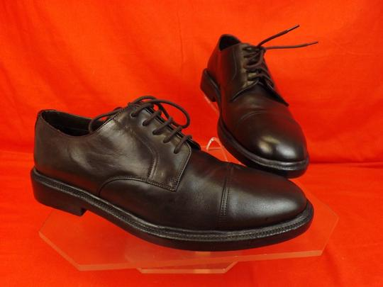 Burberry Prorsum Brown Redworths Dark Leather Lace Up Derby Oxfords 43 10 Italy Shoes Image 5