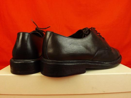 Burberry Prorsum Brown Redworths Dark Leather Lace Up Derby Oxfords 43 10 Italy Shoes Image 6