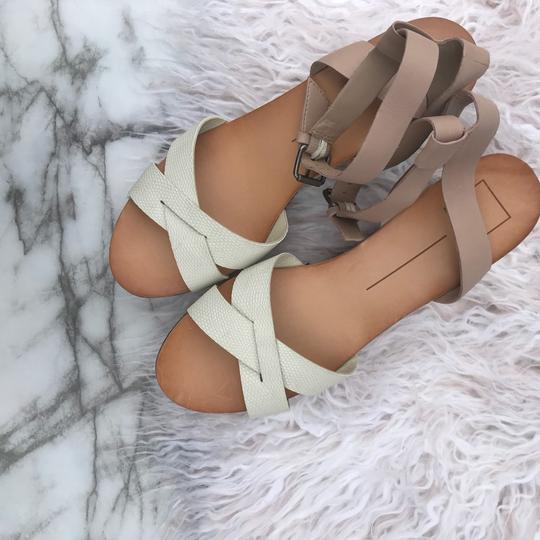 Dolce Vita beige/cream/white/tan Wedges Image 1