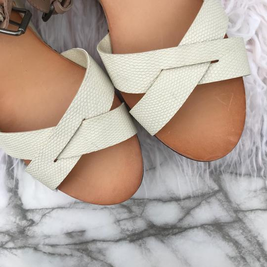 Dolce Vita beige/cream/white/tan Wedges Image 2