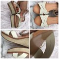 Dolce Vita beige/cream/white/tan Wedges Image 3