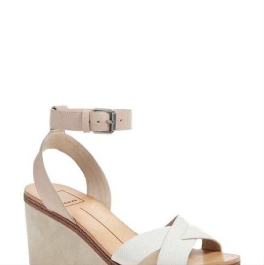 Dolce Vita beige/cream/white/tan Wedges Image 4