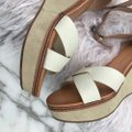 Dolce Vita beige/cream/white/tan Wedges Image 5