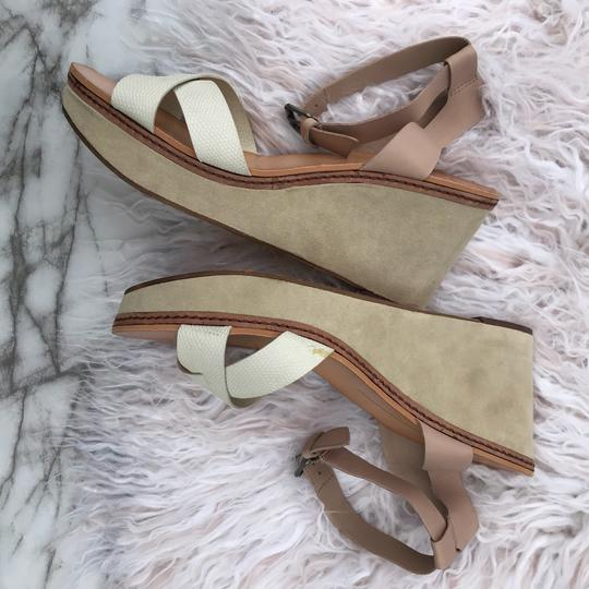 Dolce Vita beige/cream/white/tan Wedges Image 7