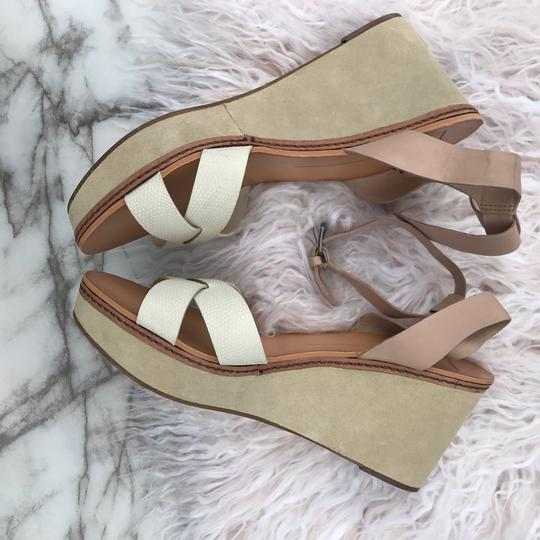 Dolce Vita beige/cream/white/tan Wedges Image 8