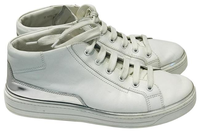 Item - White High Top Sneakers Size EU 40 (Approx. US 10) Regular (M, B)