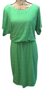 New York & Company short dress Green on Tradesy