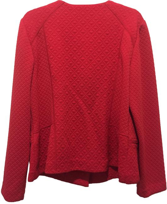 Preload https://img-static.tradesy.com/item/24125951/red-quilted-knit-jacket-size-12-l-0-1-650-650.jpg