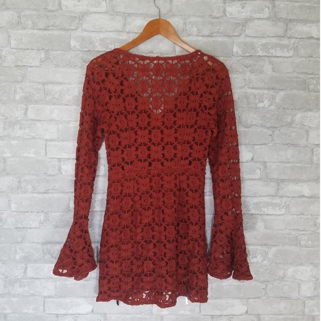 Free People short dress Orange on Tradesy Image 4