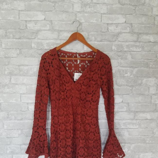 Free People short dress Orange on Tradesy Image 5