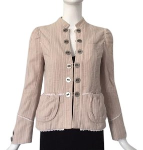 Marc Jacobs pink and white Blazer